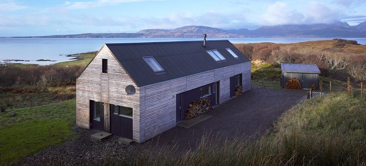 The Shed, Tokavaig on the Isle of Skye, designed by Dualchas Architects.