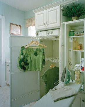 """Sater Design Collection's 6944 """"Maxina"""" Home Plan traditional-laundry-room"""
