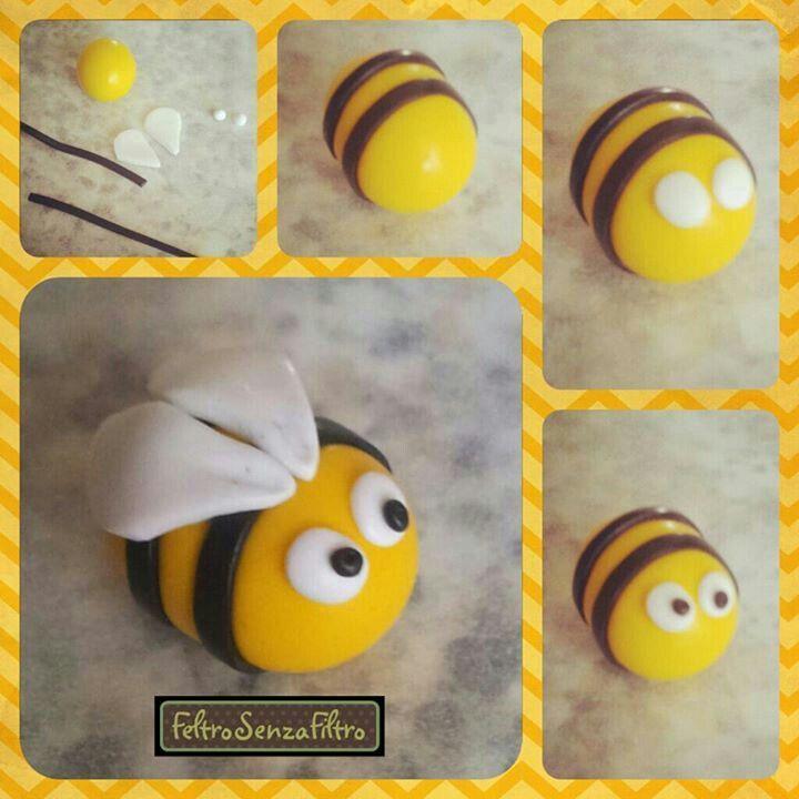 abeja plastilina facil