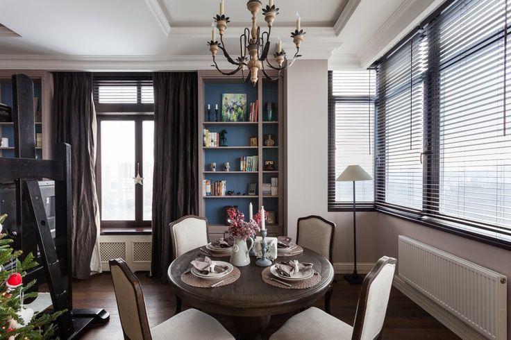 Спокойные оттенки и продуманный интерьер в московской квартире