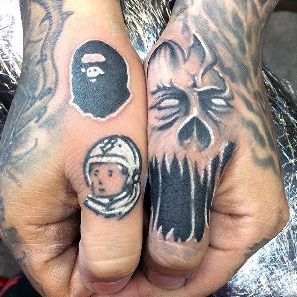 90 Thumb Tattoos For Men Left And Right Digit Design Ideas Thumb Tattoos Wrist Tattoos For Guys Tattoos For Guys