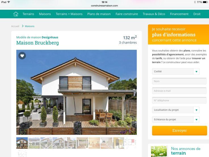 7 best wooden floor images on Pinterest Fired earth, Flooring and - faire construire sa maison par des artisans