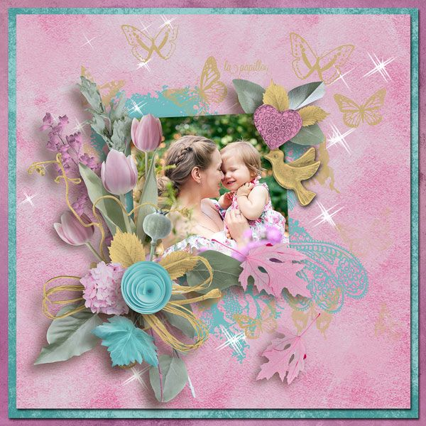 """NEW*NEW*NEW """"Rarity"""" {6-Pack Plus FWP} by Designs by Brigit  https://www.pickleberrypop.com/shop/product.php?productid=49344&cat=145&page=1 save 67% photo Evgenia Kozhevnikova use with permission"""