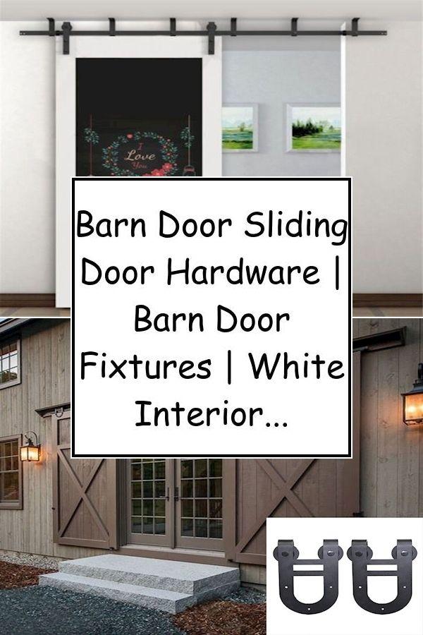 Barn Door Track System Double Barn Doors For Sale Sliding Barn Door Lockset In 2020 Barn Door Barn Door Hardware Rustic Barn Door