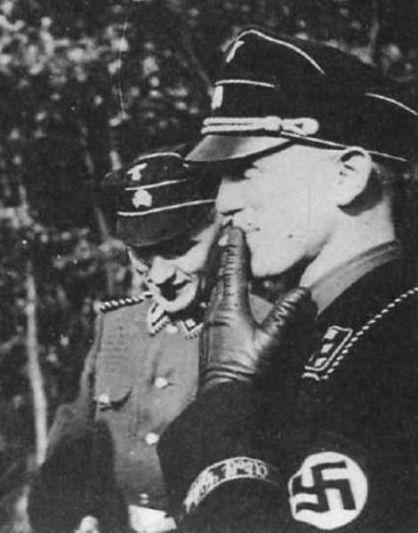 Kurt and Hubert Meyer. The two were not related,but worked closely during Operation Barbarossa.