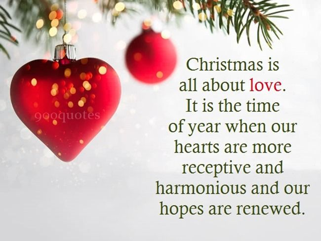 With Love Christmas Christmas Quotes Sayings Christmas Wishes Quotes Christmas Quotes Christmas Eve Quotes