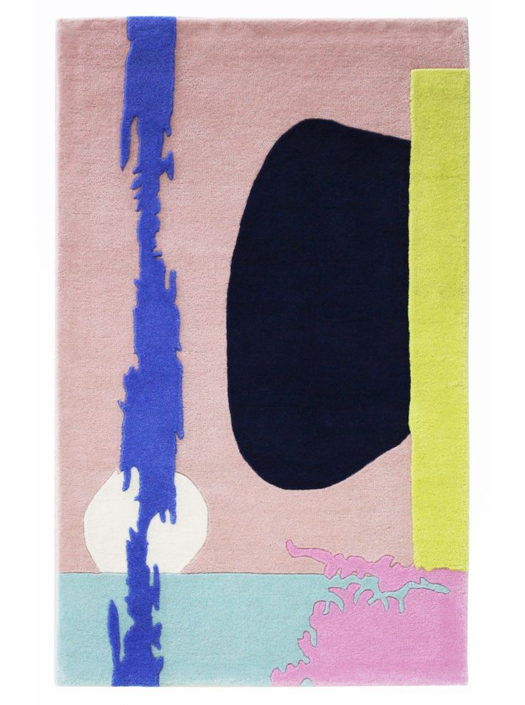A Poster A Day Rug by Alex Proba