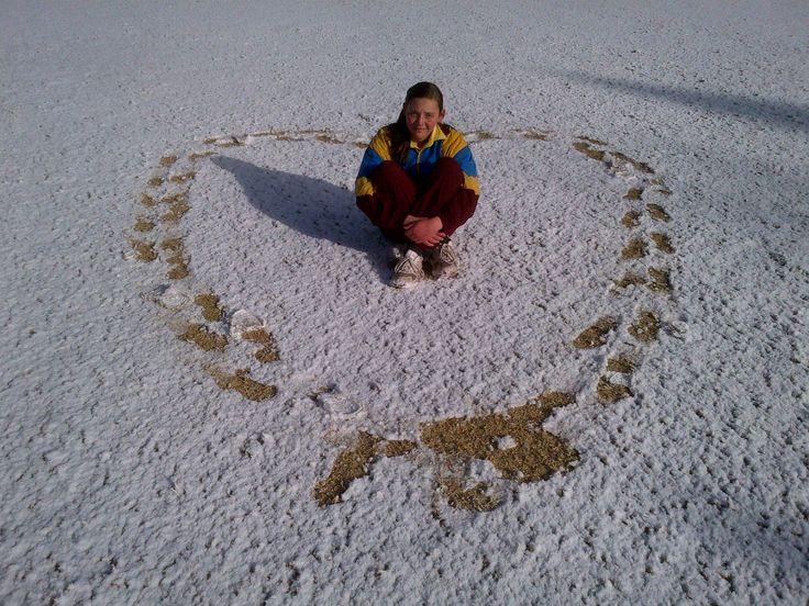 Karlien 2012 - snow in Springs