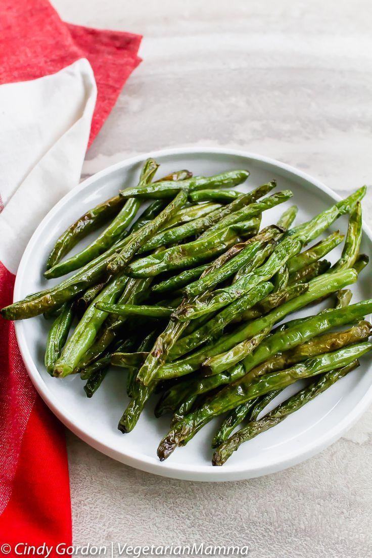 Air Fryer Green Beans Green Bean Recipes Air Fryer Green Beans
