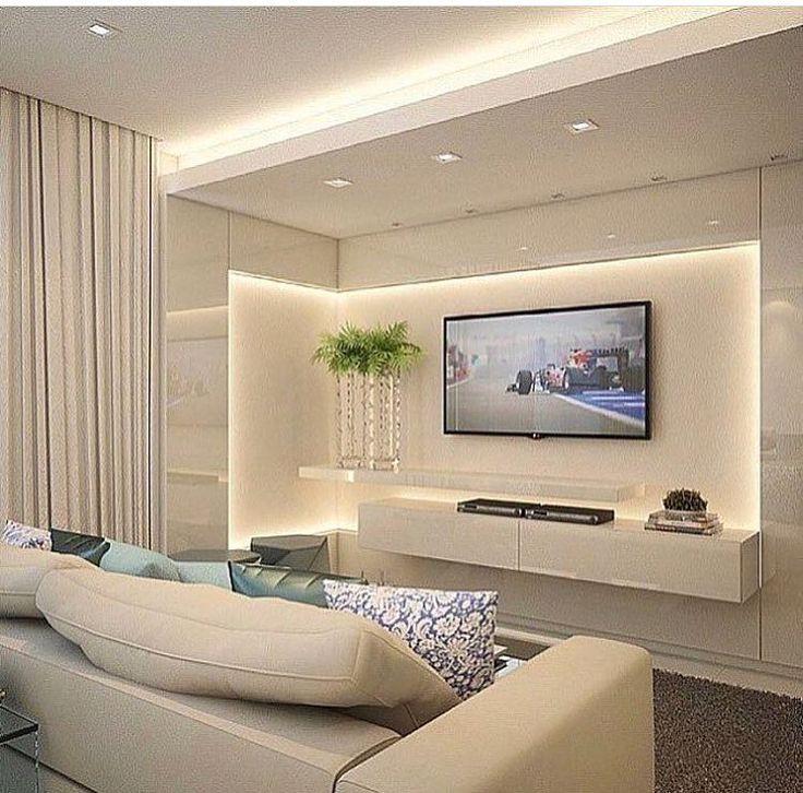 Que tal ???? Ambiente com cores clean e iluminação favorecendo composição de design contemporâneo, cheio de estilo e requinte !!!…