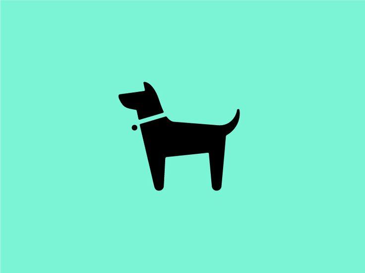 Dog Icon by Greg Anthony Thomas