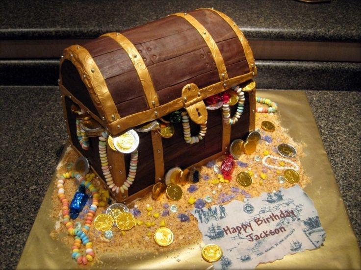 Фото торт в виде сундука