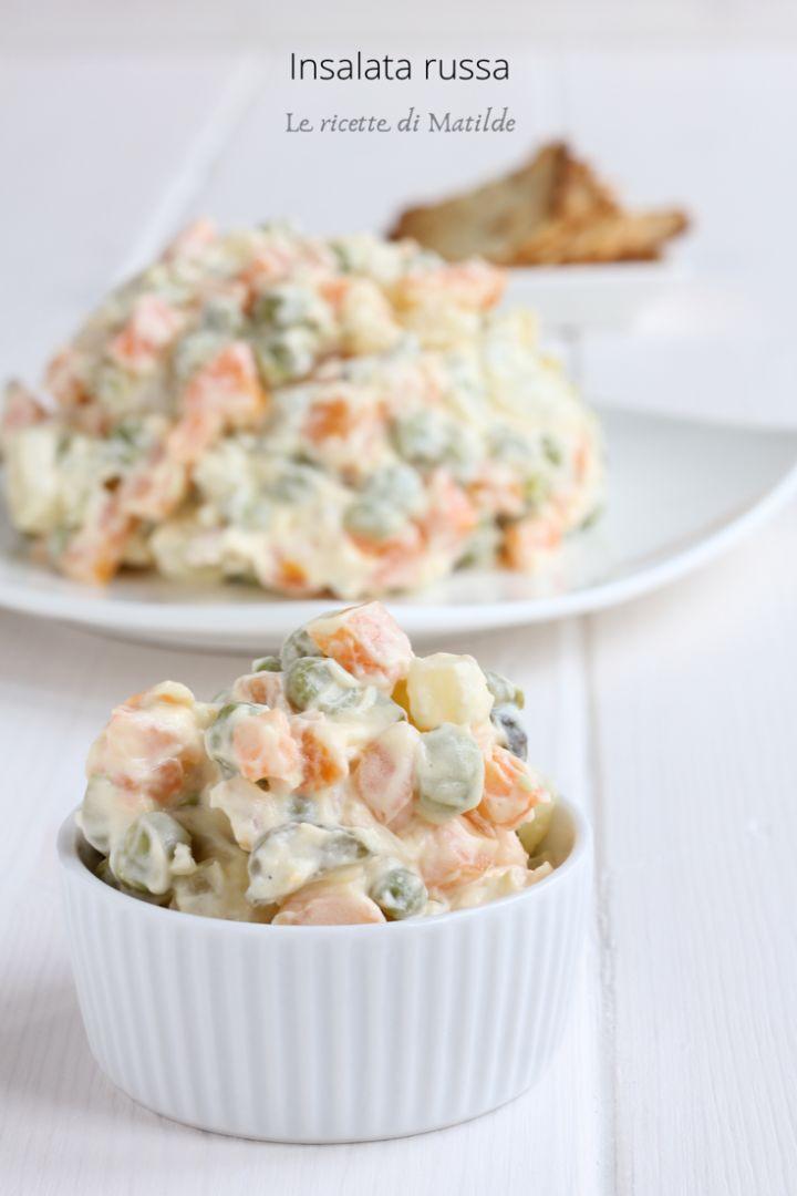 Insalata russa ricetta tradizionale e versione light for Le migliori ricette di cucina