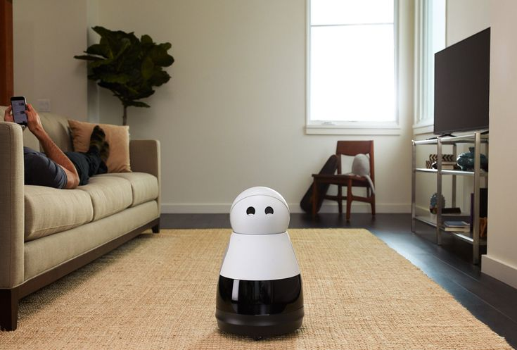 A voice-controlled robot that communicates emotion and responses through a set of expressive eyes worthy of a Pixar cartoon.