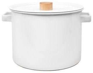 Kaico Enamel Pasta Pot - Contemporary - Specialty Cookware - by Poketo