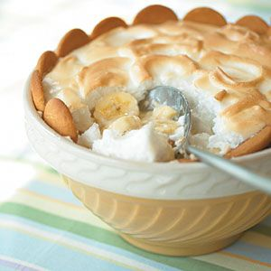 Great light version of the banana pudding you love! You won't want to go back to the full fat, sugar loaded recipe your mom uses.