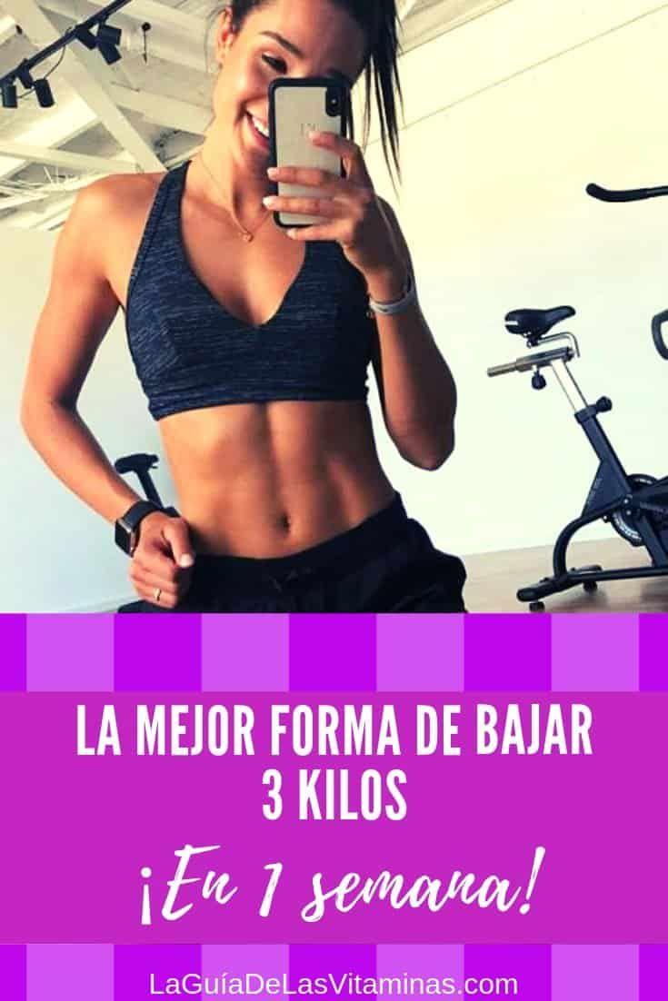 Semana 1 dieta kilos en 3