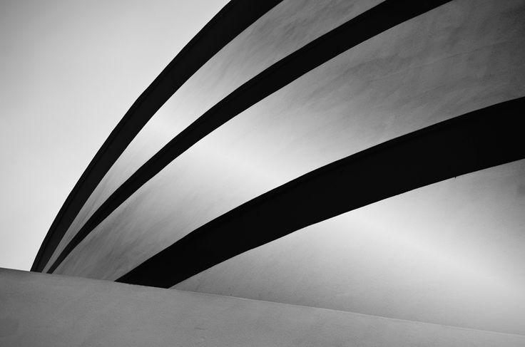 Solomon R. Guggenheim Museum, Manhatten, New York. 1959. Frank Lloyd Wright