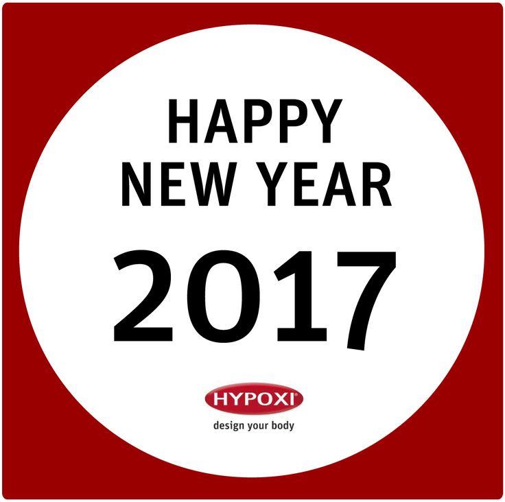 FROHES NEUES JAHR! Das HYPOXI - Team wünscht Allen Freunden, Fans und Ihren Familien ein glückliches und gesundes 2017! #Neujahr #HYPOXI