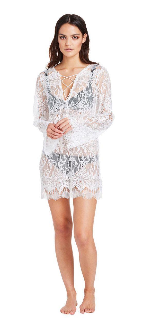 Noosa Dreams Dress (white) - Miss G