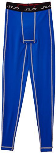 Sub Sports Kinder Dual Kompressionshose Funktionsw�sche Base Layer  lang, Royal, 140/146