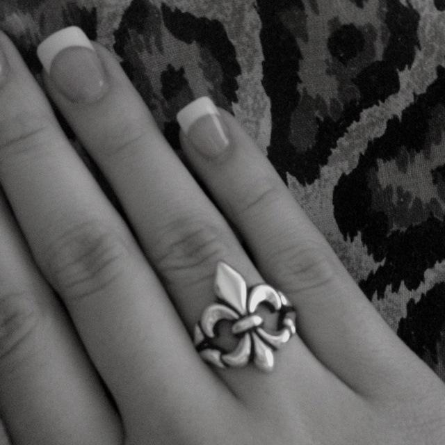 Fleur De Lis Ring #FleurDeLis #JamesAvery #MyJamesAvery