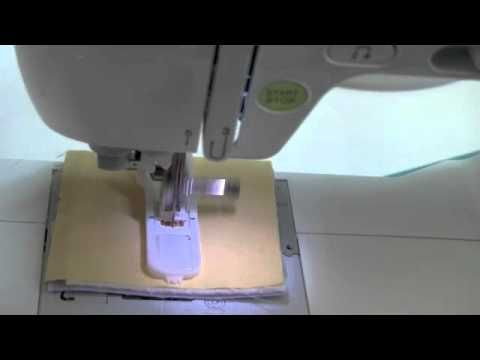Video tutorial: Baby Lock Automatic Button Hole tutorial