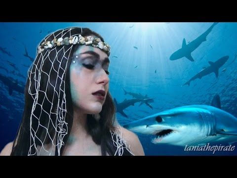 Sea Witch/Siren Makeup - YouTube