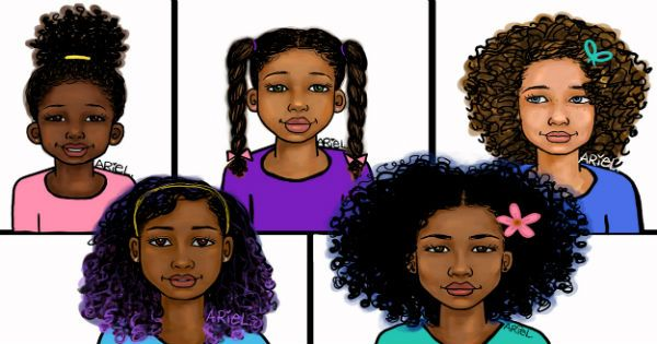 Age Appropriate Hairstyles for Curly Kids