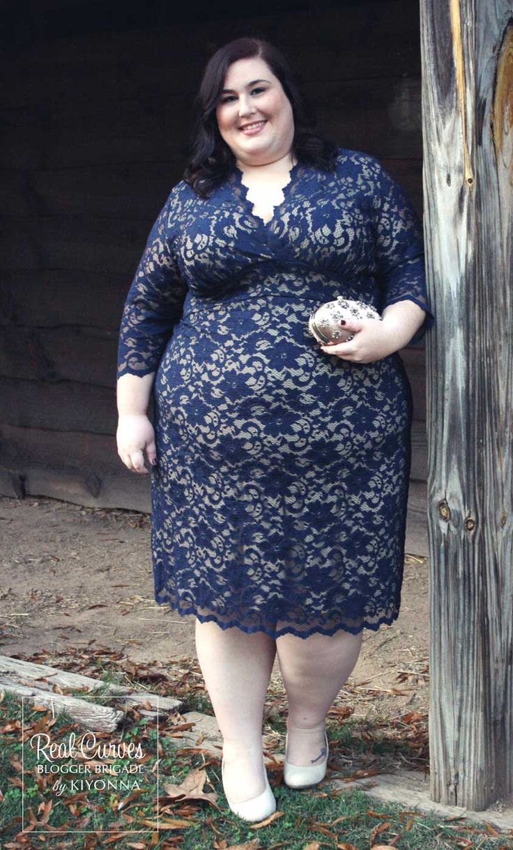 "Real Curve Cutie and Blogger Rebecca (5'4"") from theplussideofme.com looked…"