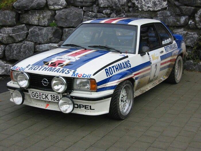 1982 Opel Ascona 400