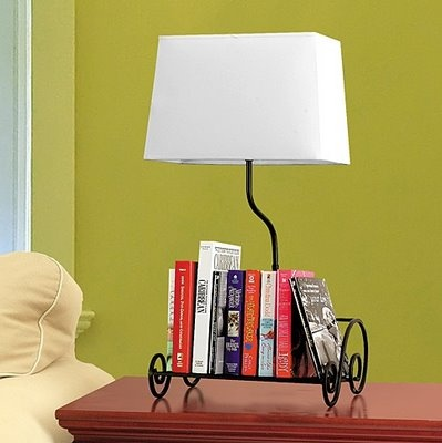 Book Shelf Lamp Keeps Reading Materials And Instant Light At Your  Fingertips Within Armu0027s Length Of