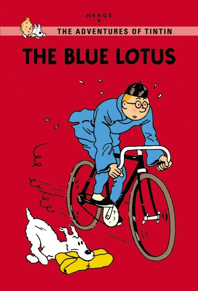 Little, Brown Young Readers The Blue Lotus  Published: July 2011  Despite cracking a gang of smugglers in Cigars of the Pharaoh, it looks like Tintin's fight against the criminals is not over. Following the advice of a mysterious messenger, Tintin travels to China. After several close shaves with corrupt officials and a mad swordsman, will he discover the real mastermind behind the smuggling? In this new extended edition, 30 extra pages explain the inspiration behind The Blue Lotus. See…