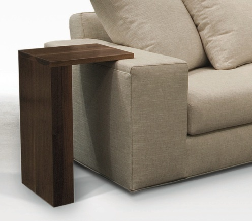 Space saving side table | Condo and loft ideas | Pinterest
