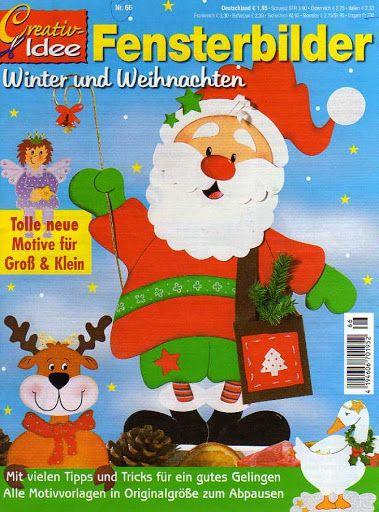 Creativ Idee - Fensterbilder Winter und Weihnachten (Nr.66) - Muscaria Amanita - Picasa Webalbumok