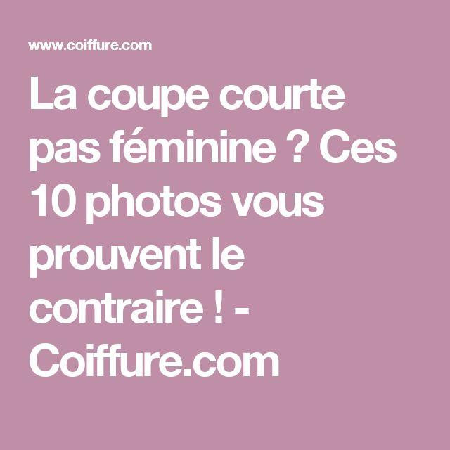 La coupe courte pas féminine ? Ces 10 photos vous prouvent le contraire ! - Coiffure.com