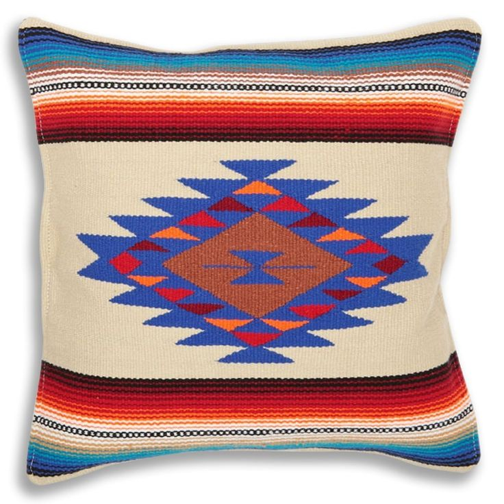 13 best Serape Throw Pillow Cover, 18 X 18, Hand Woven in ...