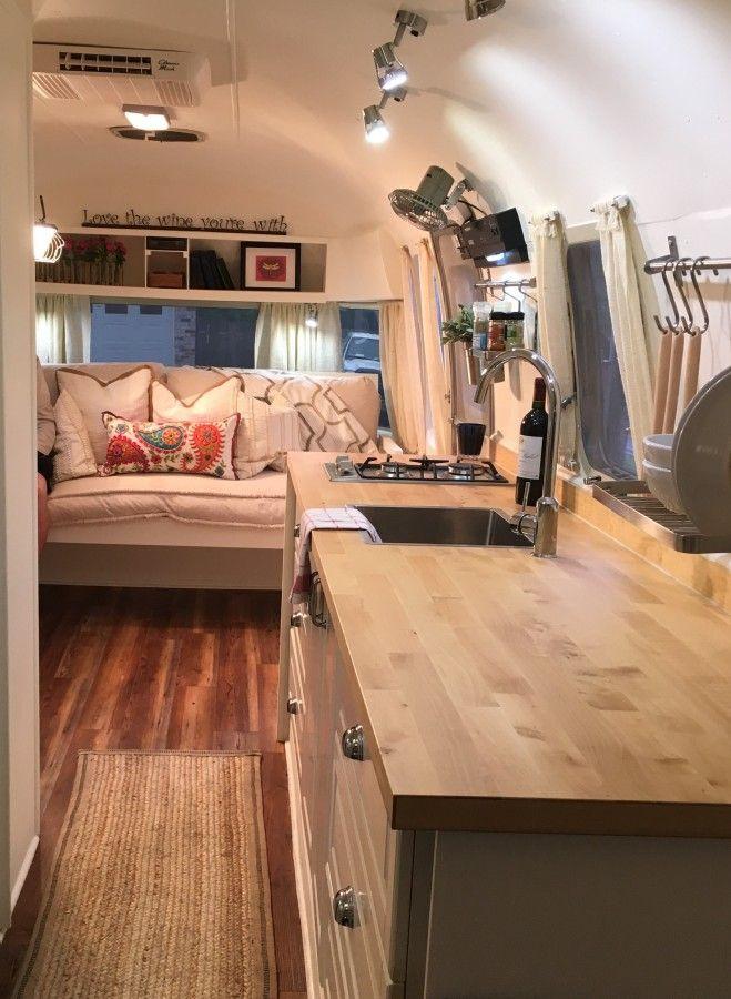 Cool 566 Best Custom Airstream Interiors Images On Pinterest | Airstream Interior Airstream ...