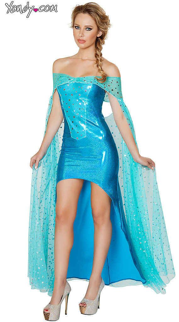 "And an even SEXIER Elsa. | Let It All Go... Sexy ""Frozen"" Halloween Costumes Are Here"