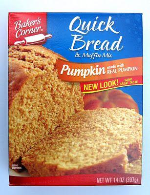 Aldi Review: Baker's Corner PUMPKIN Quick Bread Mix | The Smart Aldi Shopper