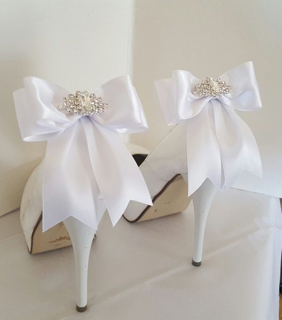 Hey, I found this really awesome Etsy listing at https://www.etsy.com/listing/288397925/white-wedding-shoe-clipsbridal-shoe
