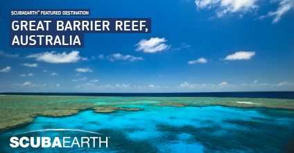 Even before you learn to dive, the Great Barrier Reef looms large on your travel radar. But, once you become a diver, this more than 2,000-kilometre/1,250 mile stretch of undersea adventure will become an obsession.  Find out more at http://www.scubaearth.com/dive-destinations/dive-destination-overview.aspx?divesiteid=164