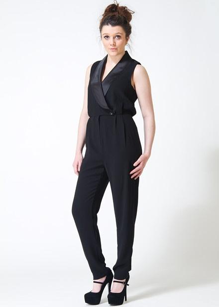 Sugarhill Boutique Harriet Jumpsuit in Black