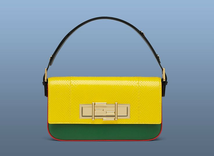 Jourdan Dunn has personalized special Fendi 3Baguette bag for the 3Baguette charity project.