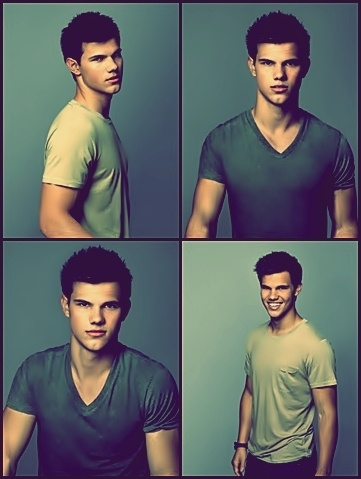 Taylor Lautner everybody… not a big fan of twilight itself but the people in it!! <3