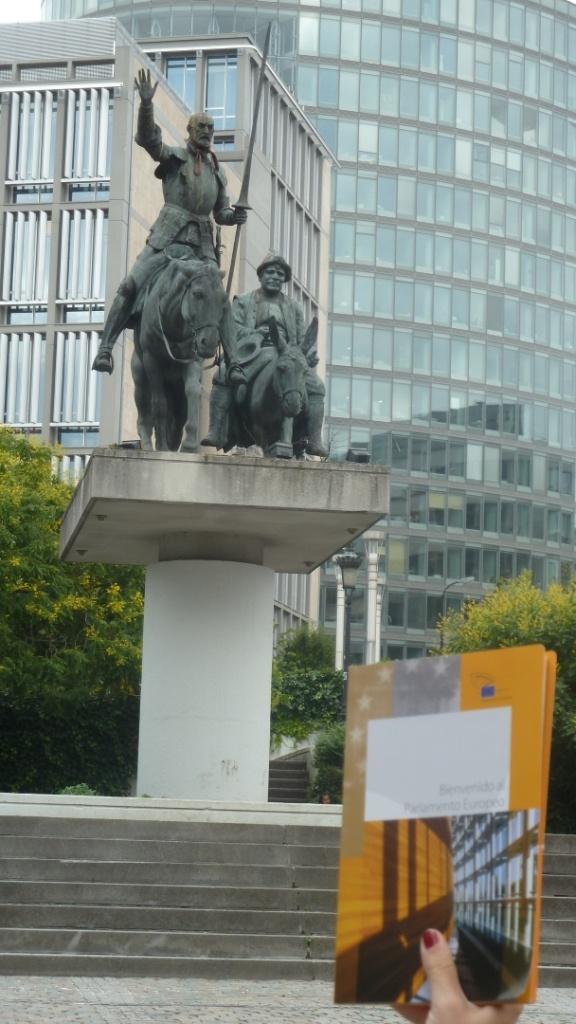 El Quixot de la Plaça d'Espanya de Brussel·les