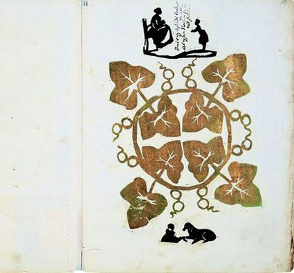 Hans Christian Andersen papercut