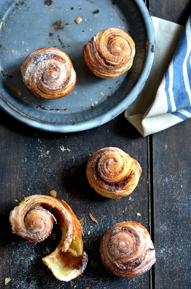 Pain au Chocolat Cinnamon Rolls with Crème Fraîche Icing and Walnuts ...
