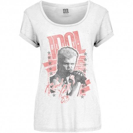 Billy Idol: Rebel Yell (tricou dama)