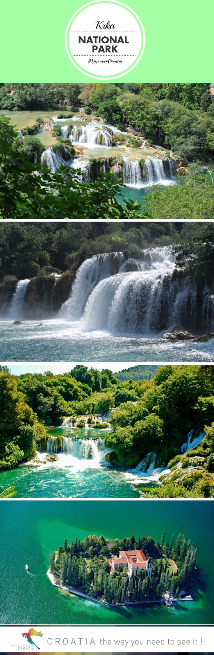 Best holiday in Croatia: Krka Waterfalls National Park | Discover Croatia #TRAVEL #CROATIA